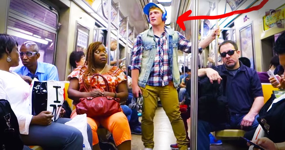 Everyone Thought This Man Was Just Weird. But Then He Handed Them Headphones And - WHOA!