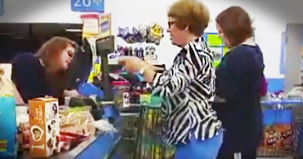 How God Showed Up at Wal-Mart to Help a Young Mom in Need is Absolutely Amazing!