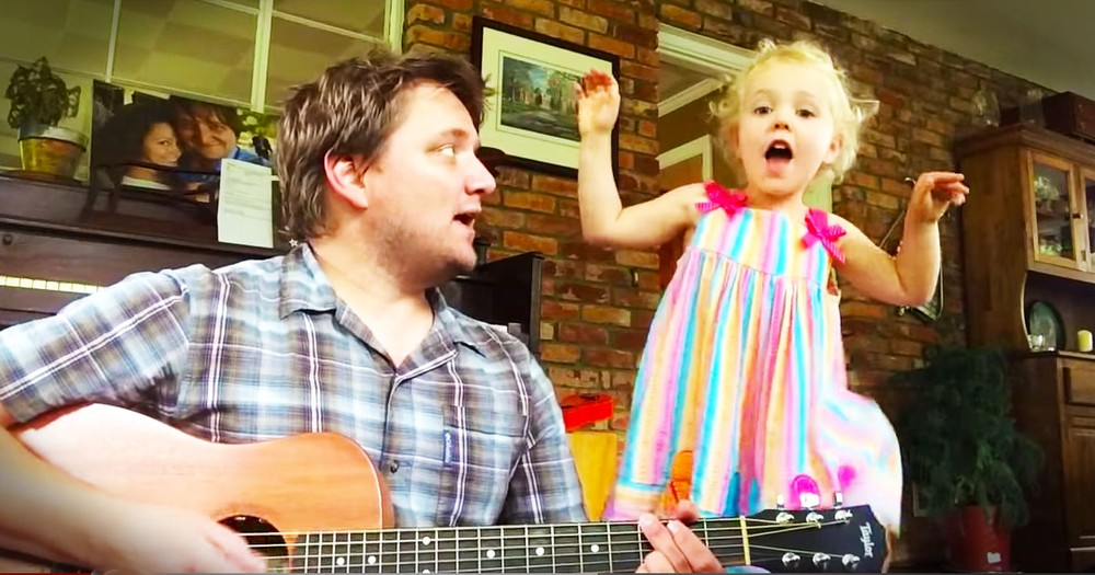 This Musical Daddy and Daughter Just Melted My Heart. They're Growing Roots, And I'm Sprouting Joy!