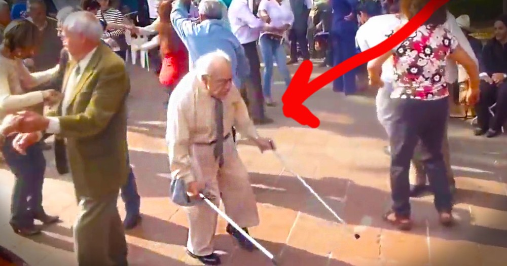 This Dancing Grandpa Just Became My New Hero. And He Did It In 8 Seconds Flat!