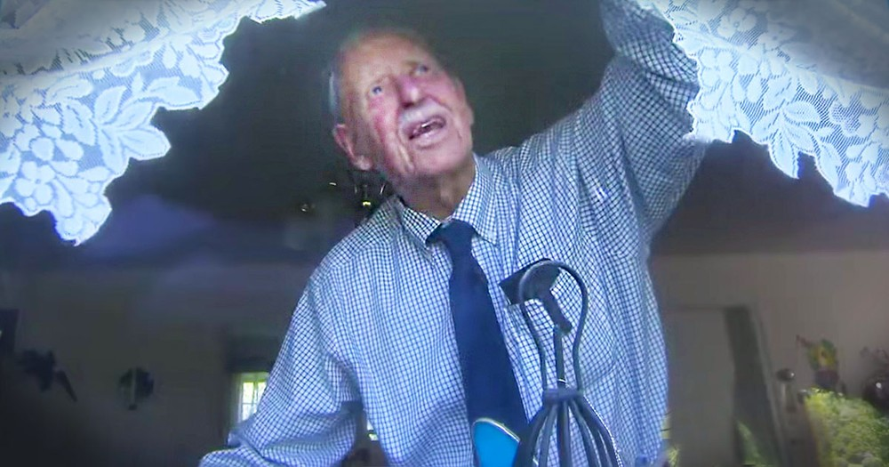 8,500 Folks Do This Everyday, But None Like THIS 101 Year Old. Prepare To Have Your Heart Melted.