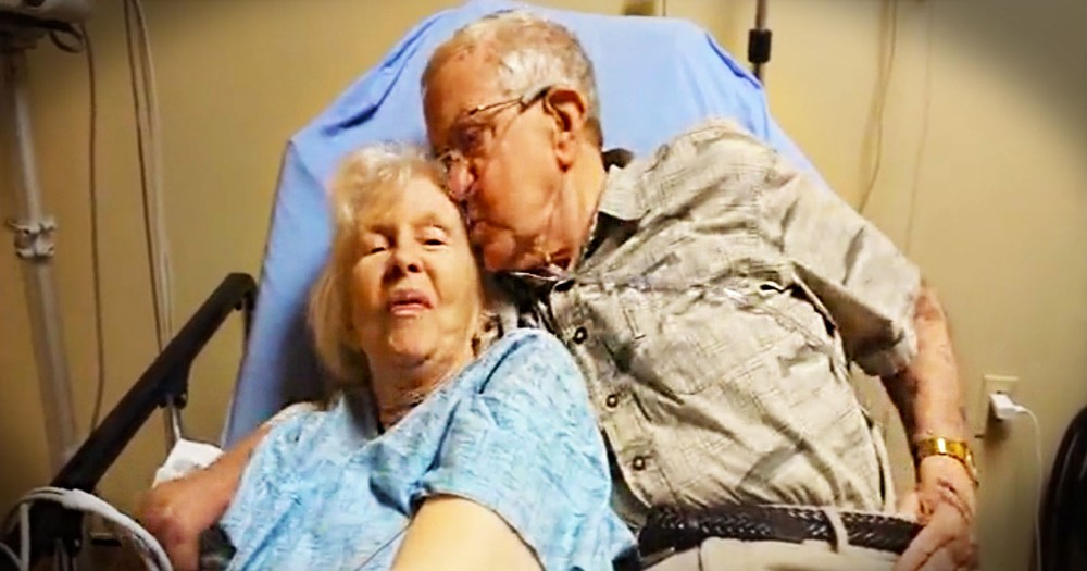 Who Else Just Fell For These Love Birds Of 63 Years? At 1:14 They'll Completely Melt Your Heart.