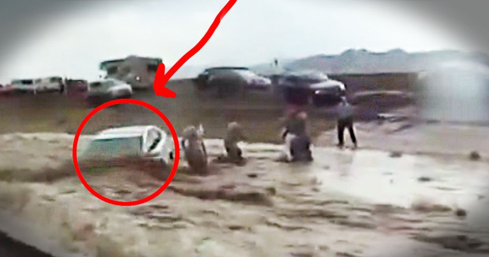 Raging Waters Swept an Elderly Couple Away. Until 10 Airmen Risked Their Lives To Save Them--WOW!