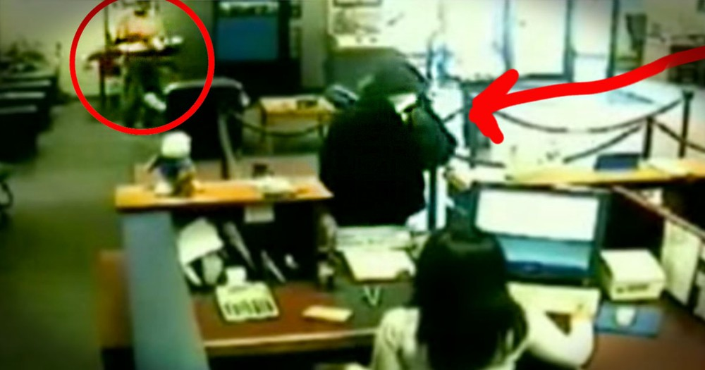 Everyone Was Too Afraid To Stop This Robber. Until One Grandpa Risked Everything To Save The Day!