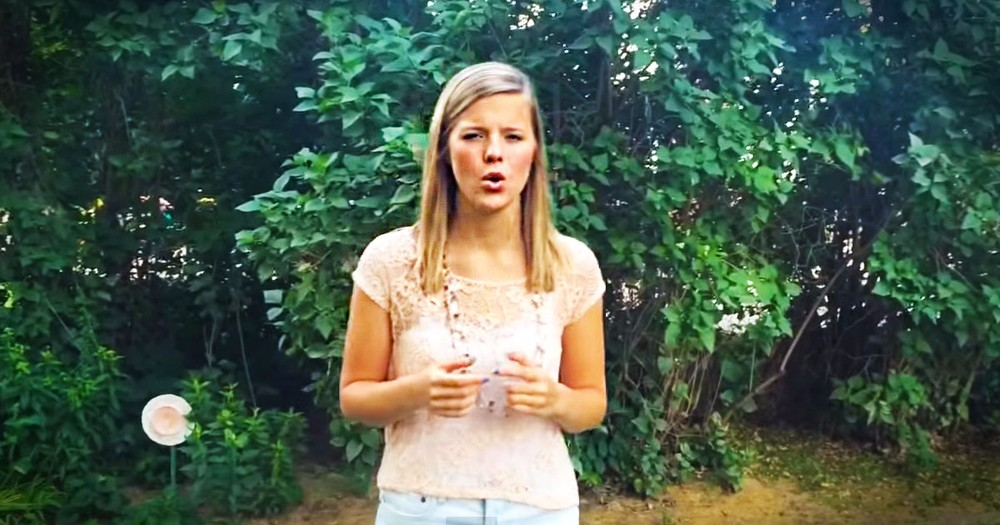 This Teenager Has A Message For Her Generation. And It Just Covered Me In CHILLS!