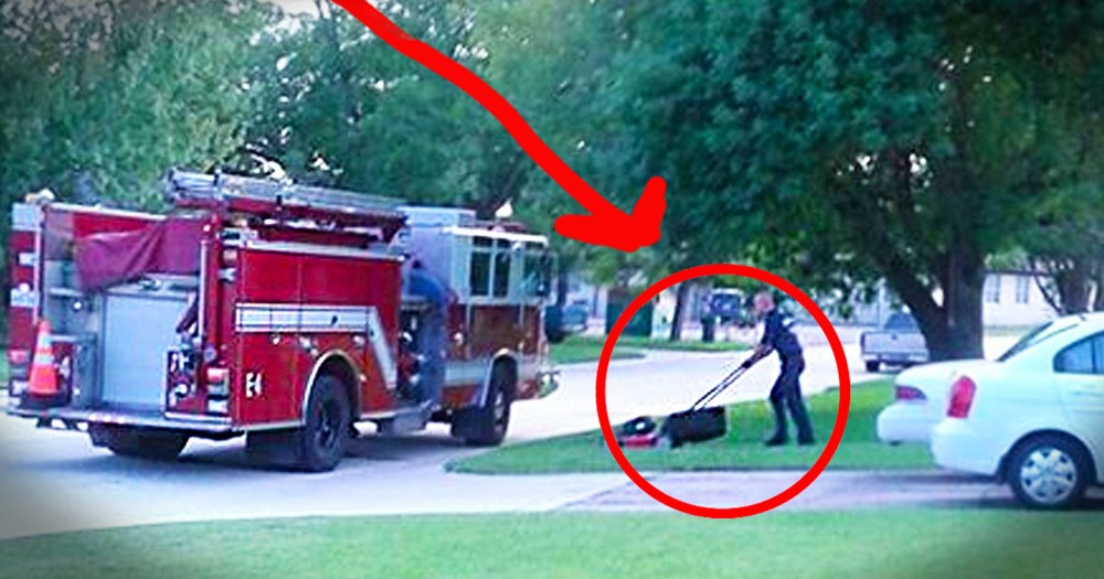 Firefighters Didn't Just Respond To This Call. They Came Back for a Surprising Act Of Kindness. Wow!