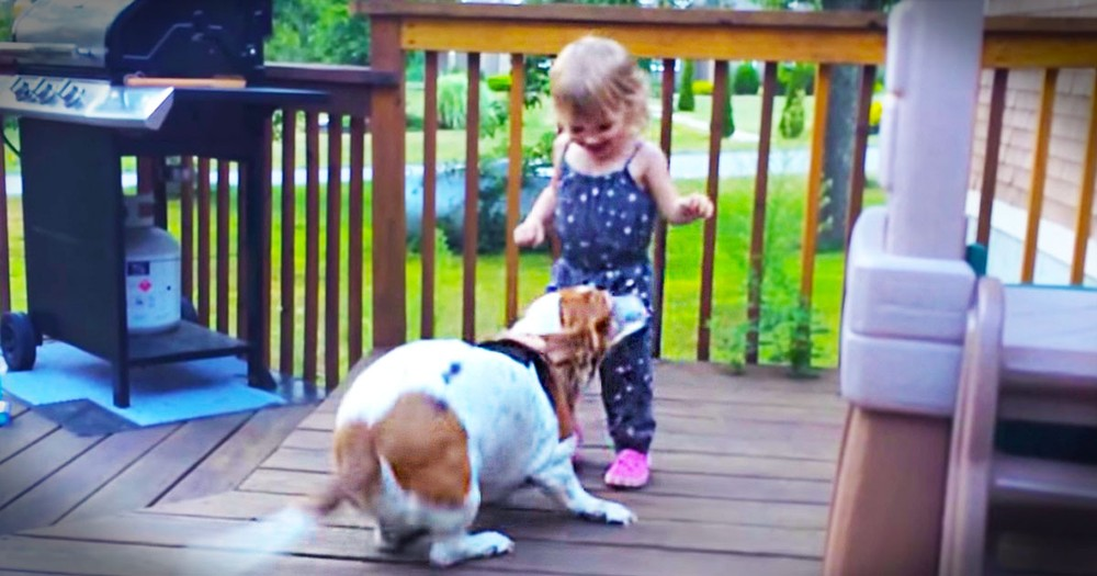 THIS Is What Pure Joy Looks Like. These 2 Are The Cutest Dancing Partners Ever!