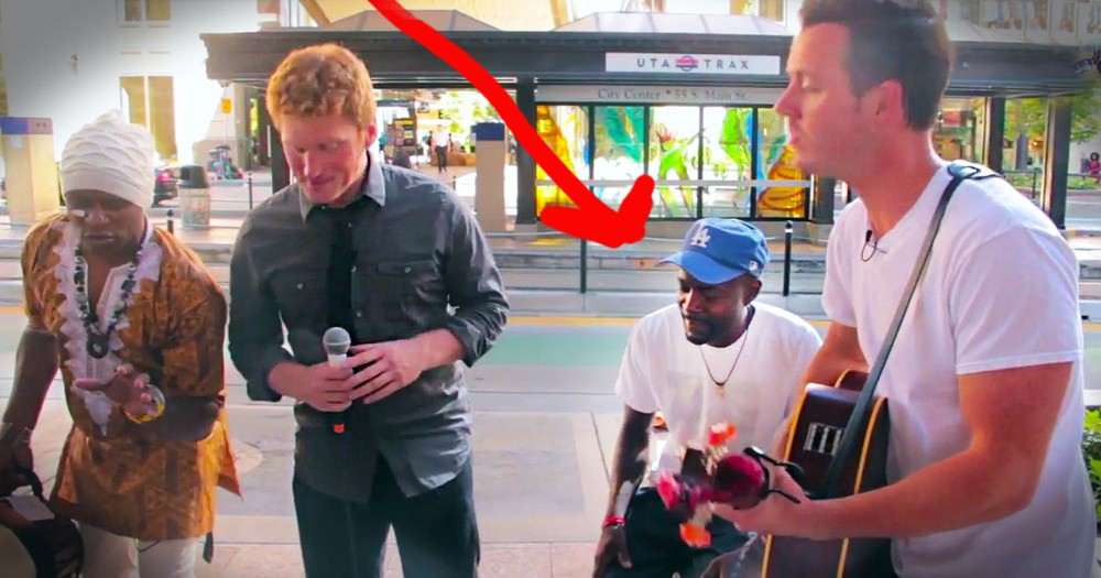 These Strangers Invited A Homeless Man To Do One Simple Thing. What Happens Next Is AMAZING!