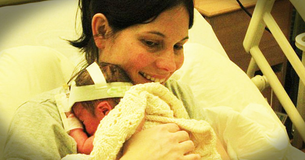 Mom Refuses Abortion After Her Water Breaks Early. And Just Look At Her Baby NOW!