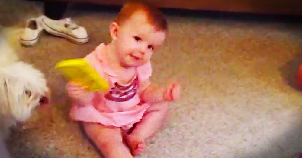This Little Dancer Found The Cutest Use For A Phone EVER. 10 Seconds In I Couldn't Stop The Giggles!