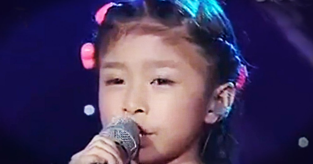 If You Think This Little Girl Is Just Cute, Then WAIT 'Til You Hear Her Sing. Um...WHOA!