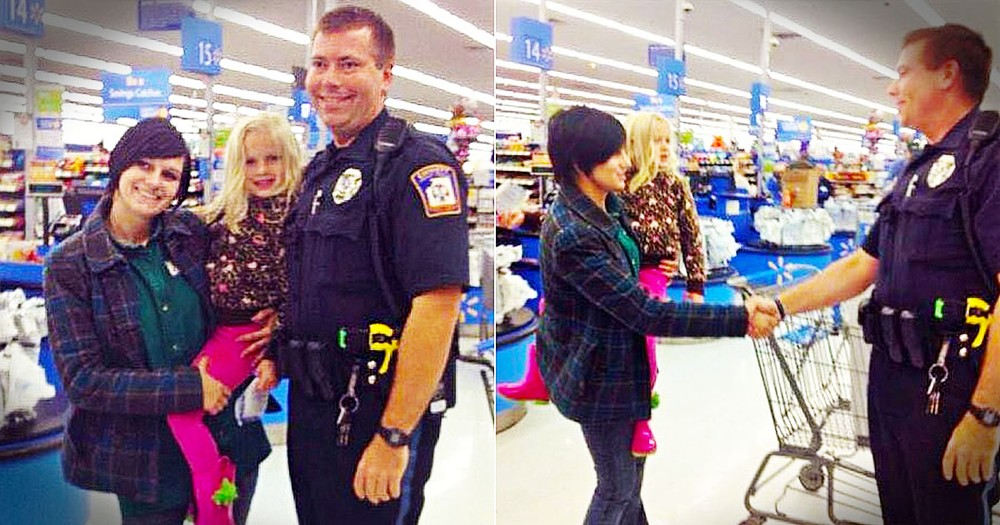 When A Mom Broke The Law, This Officer Broke The Rules To Help! Now EVERYONE'S Saying He's A Hero!