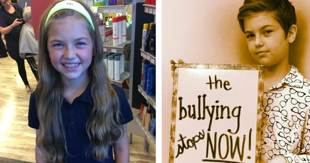 One Girl Donated 2 Feet of Hair to Children Fighting Cancer. Now She's Being Bullied For Her Bravery
