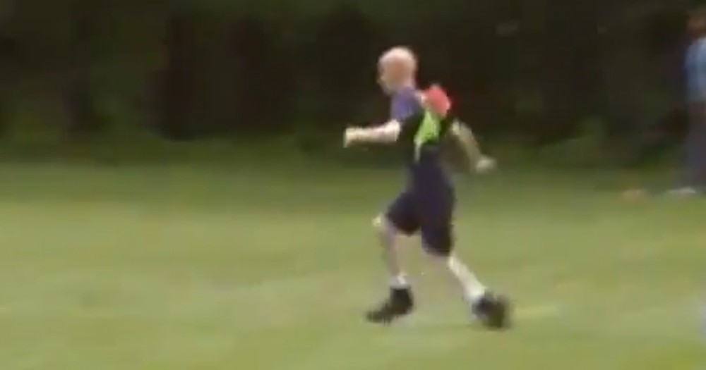 When This Young Boy Almost Gave Up Trying, His Friends Did THIS.  At 1:07 The TEARS Flowed!