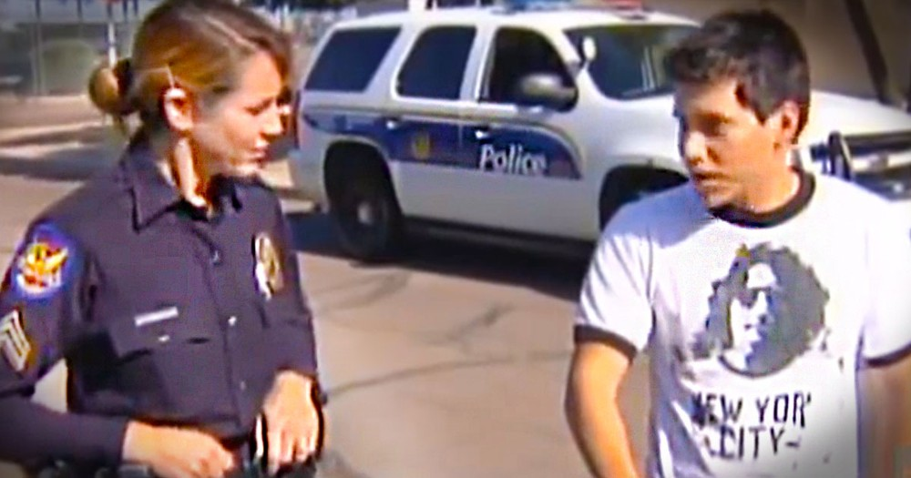 When This Boy Was Picked Up By Police, He Was Nervous. But Then THIS Happened And He Was Shocked!