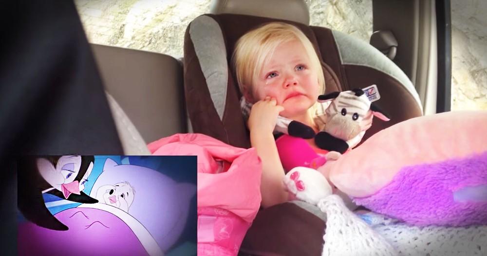 Sweet Girl Gets So Emotional Watching Her Favorite Movie