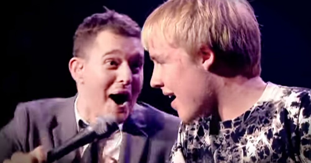 Mother Convinces Michael Buble to Let Her Son Sing - and He Nails It