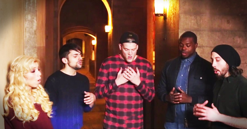 Pentatonix Sing A Powerful A Cappella 'Silent Night'