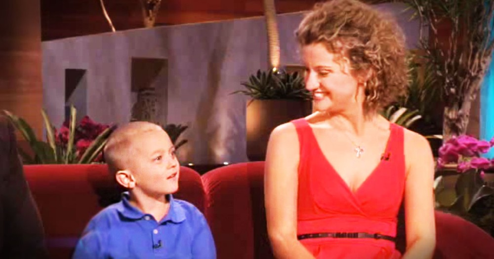 Heroic Nanny Runs Through Fire To Save Little Boy