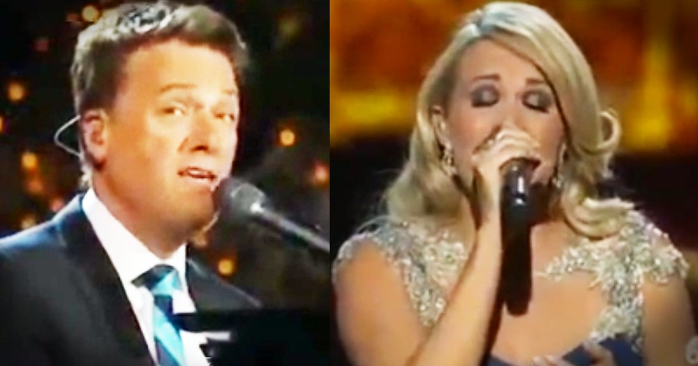 Carrie Underwood And Michael W. Smith Sing A Christmas Song