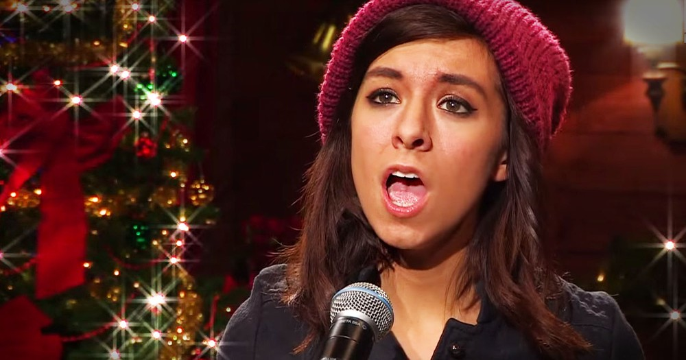 Christine Grimme Sings Powerful Cover Of 'O Come, O Come, Emmanuel'