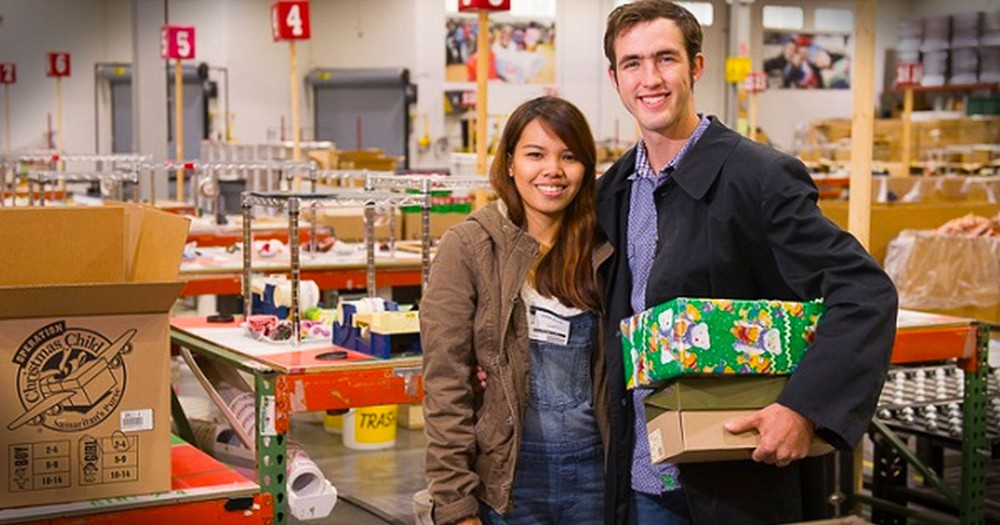 Operation Christmas Child Shoebox Love Story