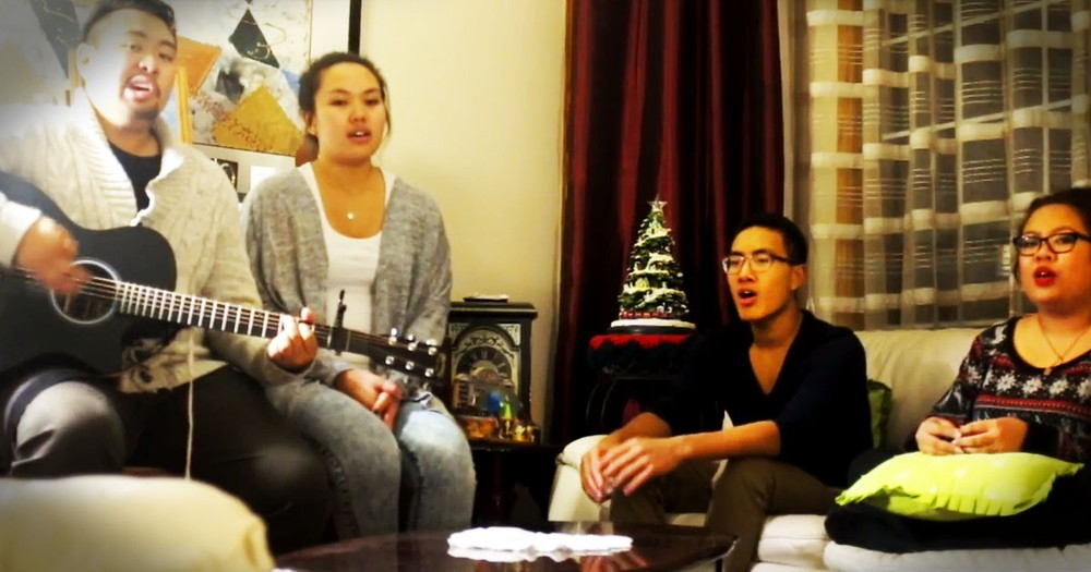 Family Sings 'Lord I Need You' As A Birthday Gift To Their Grandmother