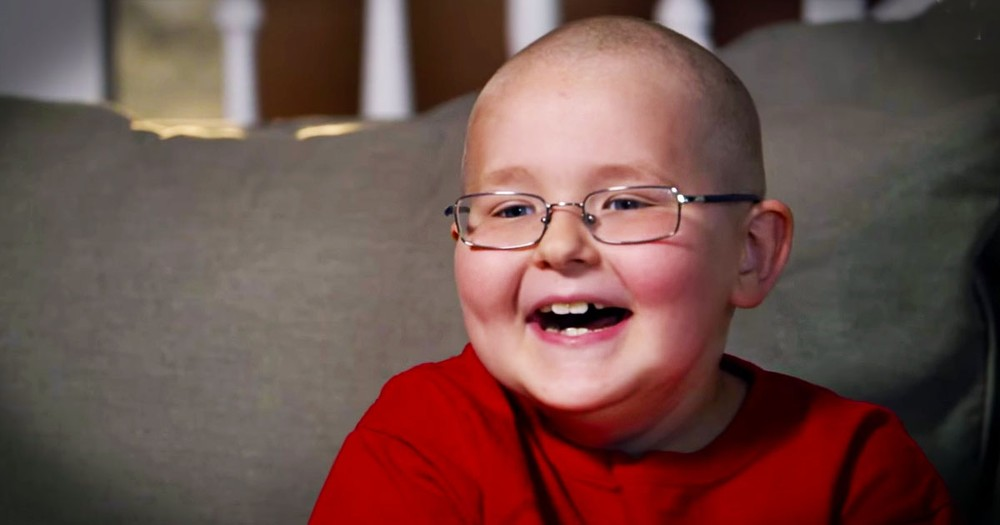 8-Year-Old Inspires Others As He Fights Cancer