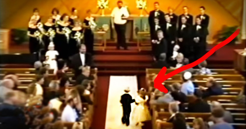 Ring Bearer And Flower Girl Tie The Knot 20 Years Later