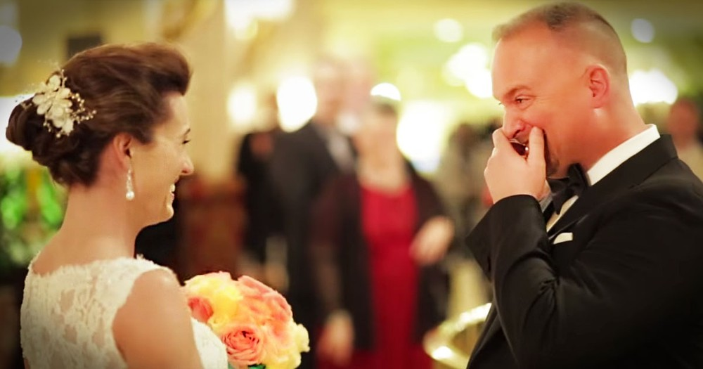 Emotional Grooms See Brides For First Time