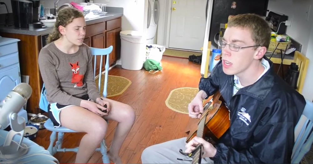These Siblings Beautifully Sing 'Hero' --WOW!