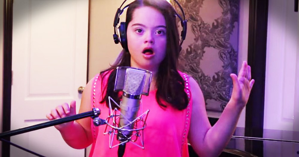 12-Year-Old Defies Odds To Sing--Wow!