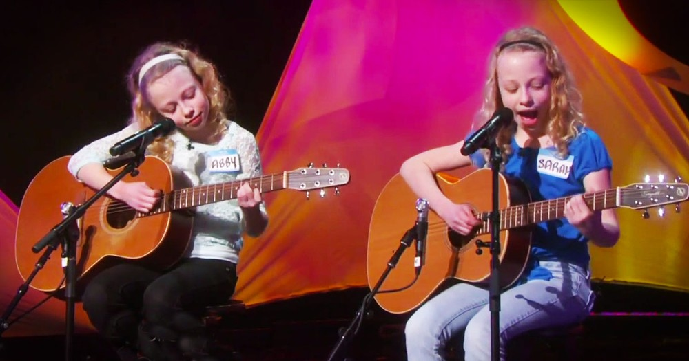 10-Year-Old Twins Will Wow You With Their Performance!
