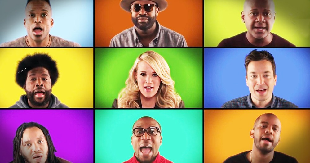 So Many Superstars Come Together For EPIC A Cappella Performance!