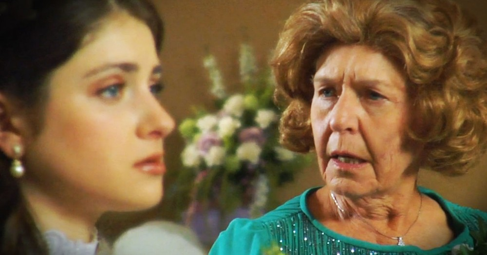 Grandma Shares Shocking Secret With Bride--TEARS!