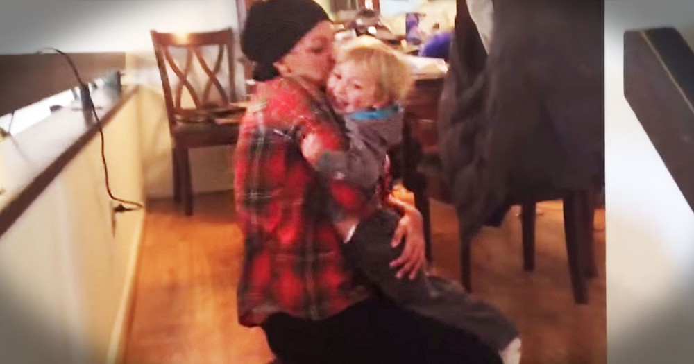 Baby Boy's Happy Reunion With Mom After Chemo