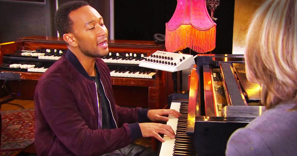 John Legend's 'Amazing Grace' Brought Me To My Knees!