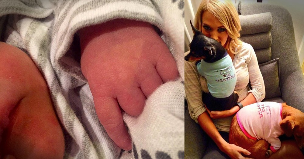 See The First Pics Of Carrie Underwood's Blessing From God!
