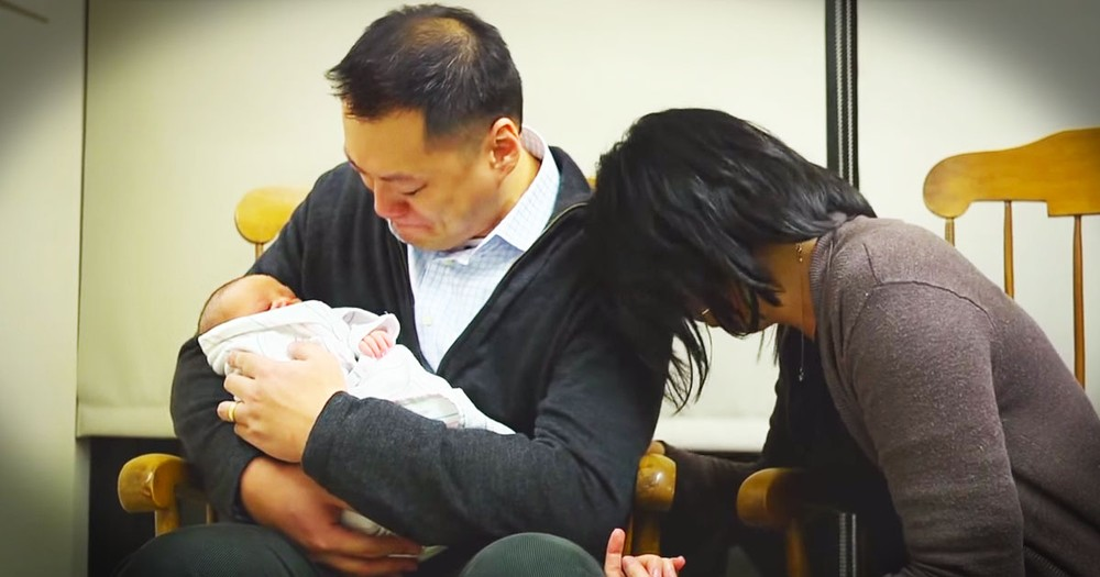 Couple Holds Son After 9 Years Of Prayers--TEARS!