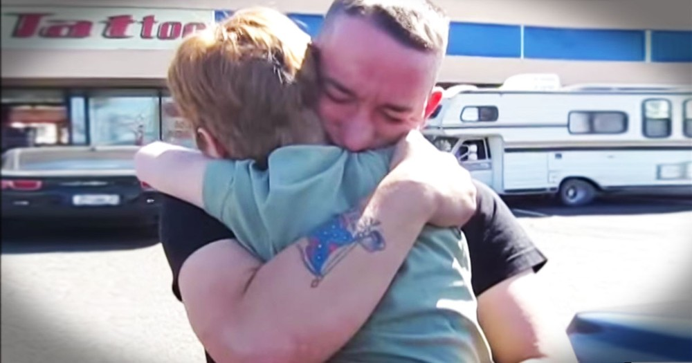 8-Year-Old Sister Gives Marine A Tearful Surprise!