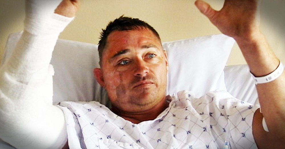 He Reached Into The Burning Car Just As It Exploded--And He Knows GOD Put Him There--WOW!