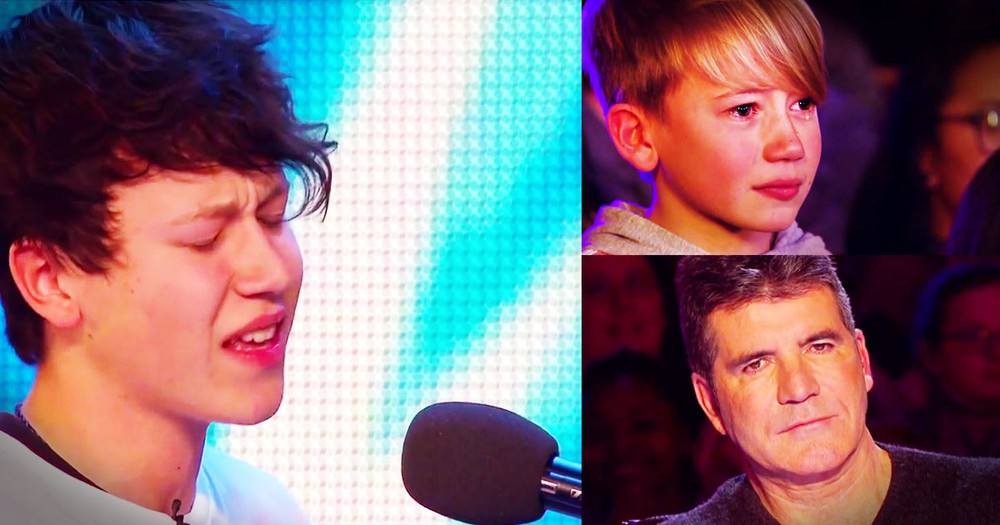15-Year-Old Wows Judges And Brings Baby Brother To Tears With This Audition!
