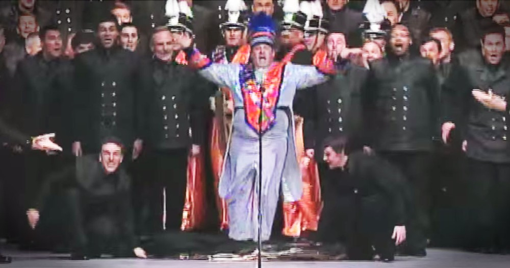 Barbershop Choir's Harmonies Are Stunning, But The Dance Moves REALLY Amaze!
