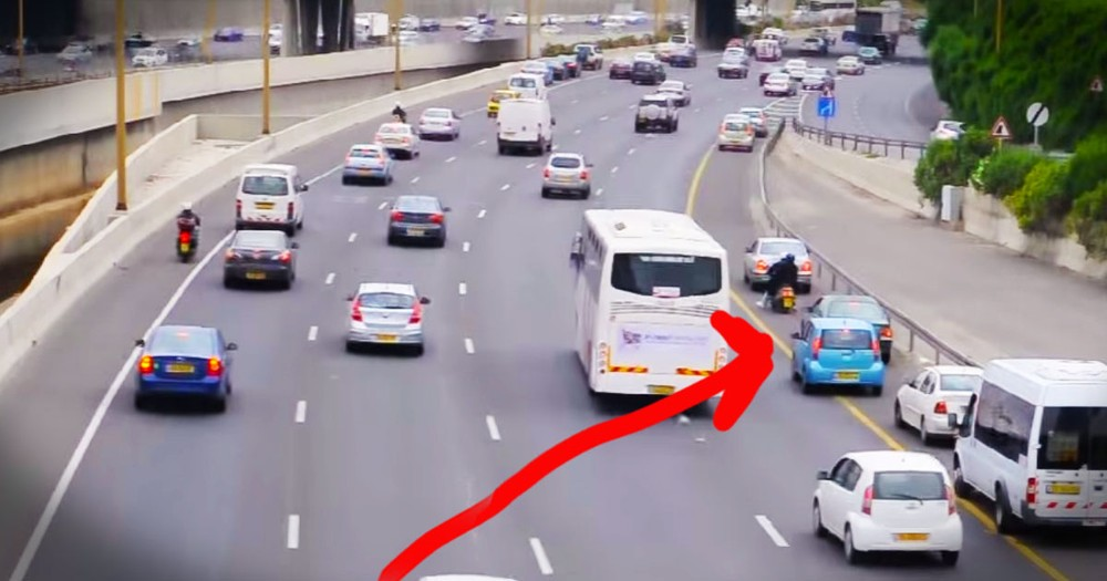 Why These Drivers Stopped And Left Their Cars Is So Moving!