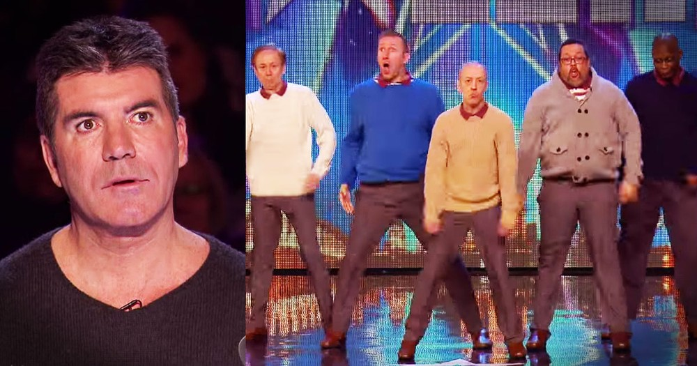 These 'Old' Men Shocked Even Simon With THIS Audition!