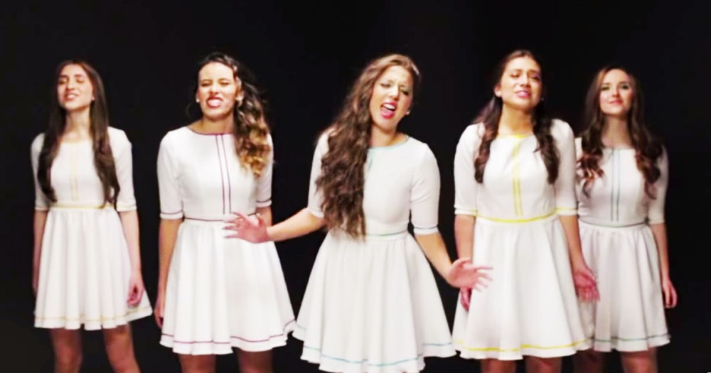 These 5 Girls Look Like Angels And Sing Like Disney Princesses!