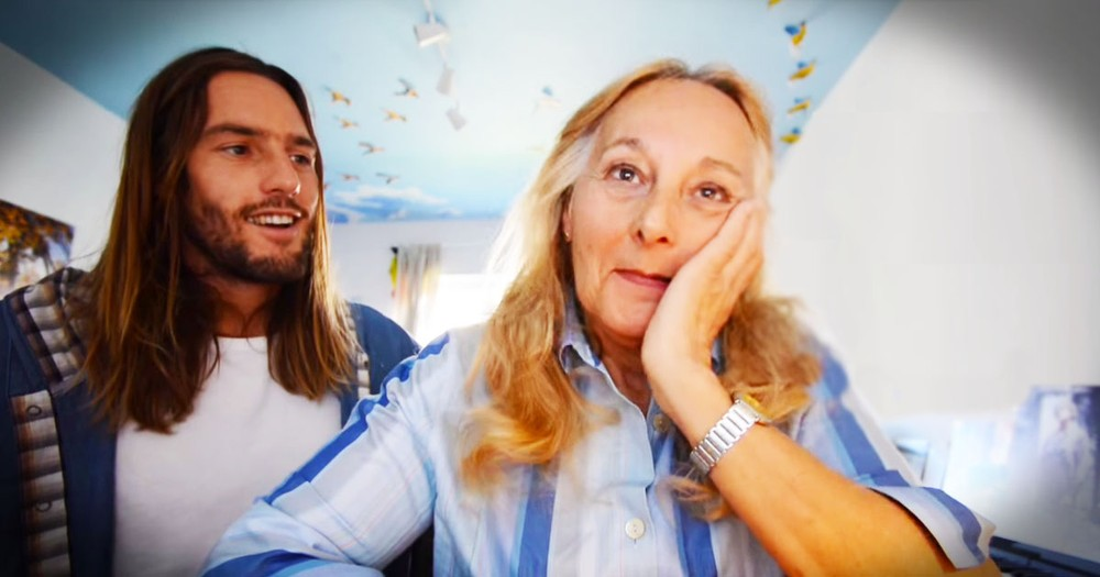 This Son Secretly Filmed His Mom For A Year. And You'll Love This Surprise To Pieces!
