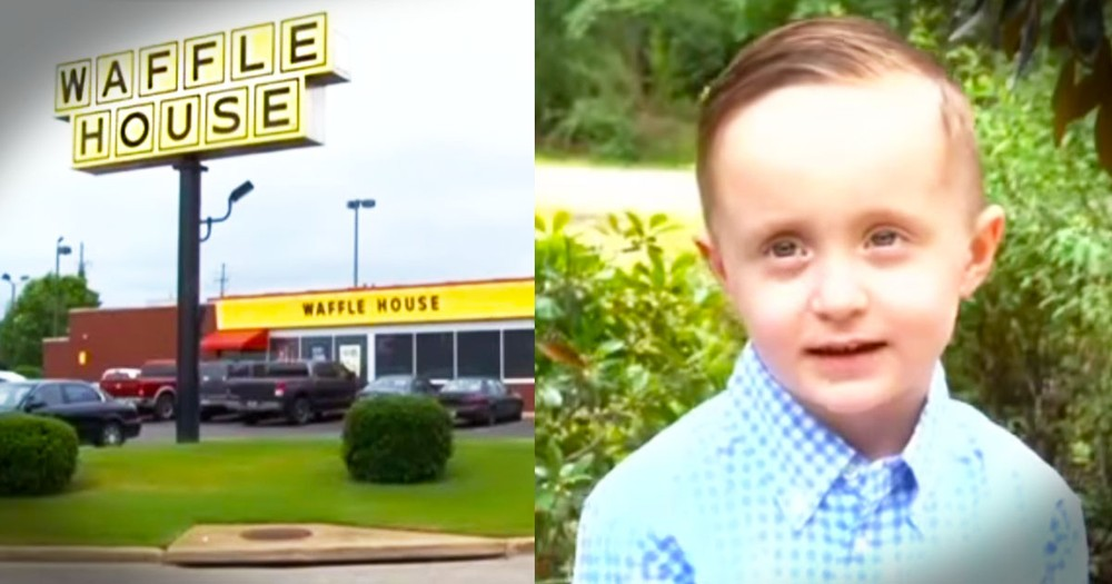 What This 5-Year-Old Did At Waffle House Had Everyone In Tears!
