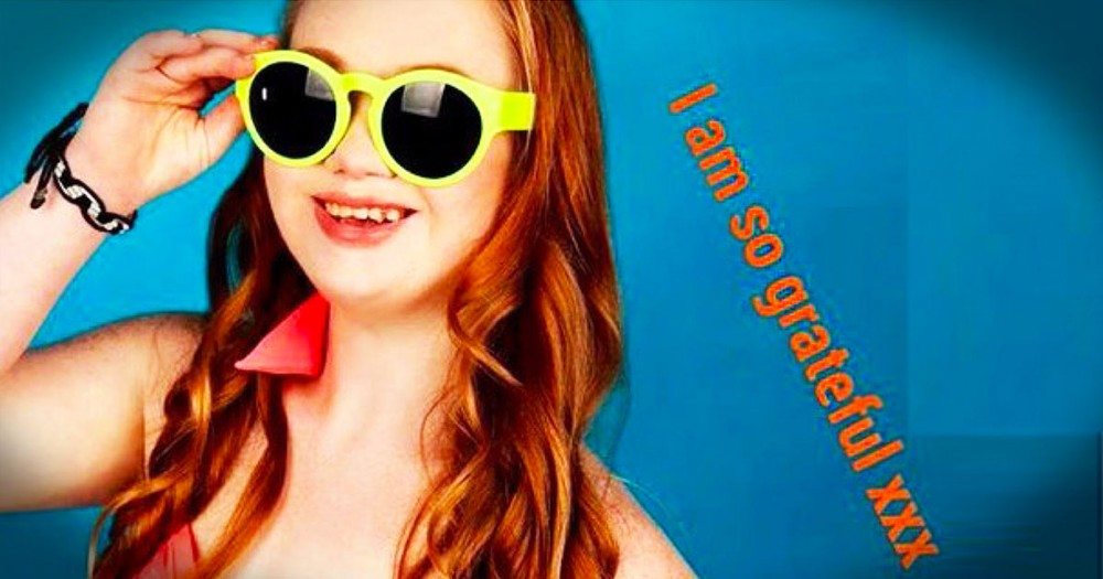 This Teen With Down Syndrome Did THIS To Change The Way People See Her. And It's INSPIRING!
