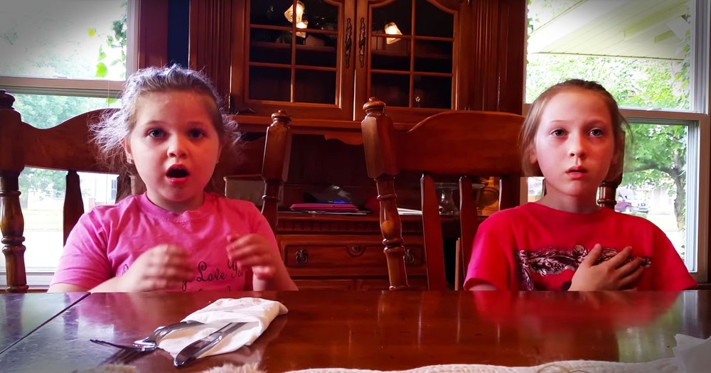 When You Learn Why These 2 Sisters Are SQUEALING, You'll Want To Join In--Aww!
